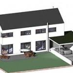 Neubau Einfamilienhaus in Hüttlingen